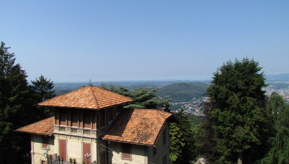 vista verso la svizzera