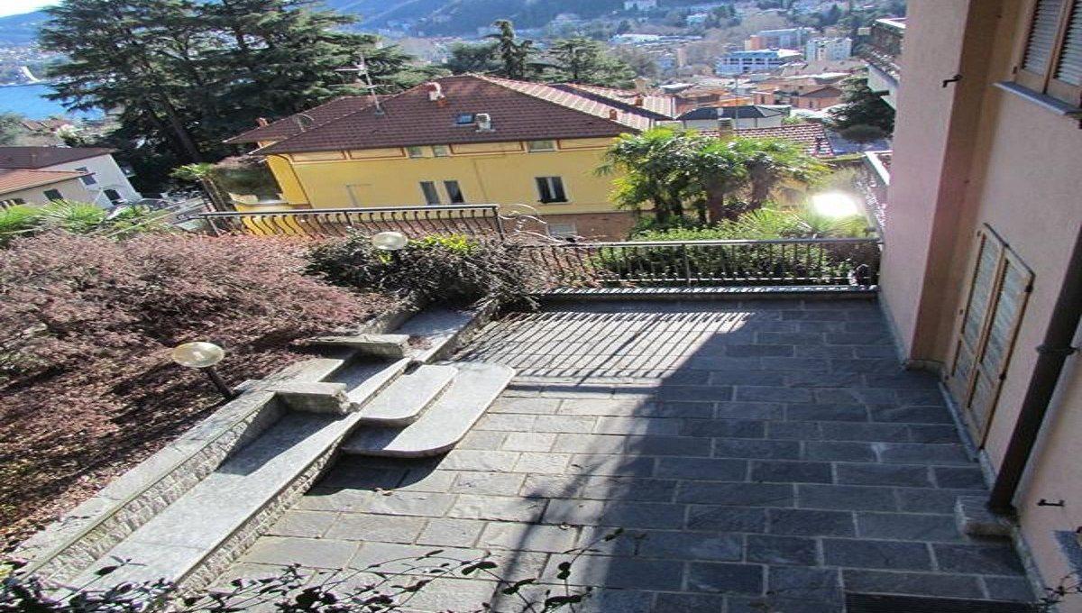 terrazzo laterale visto dall'alto