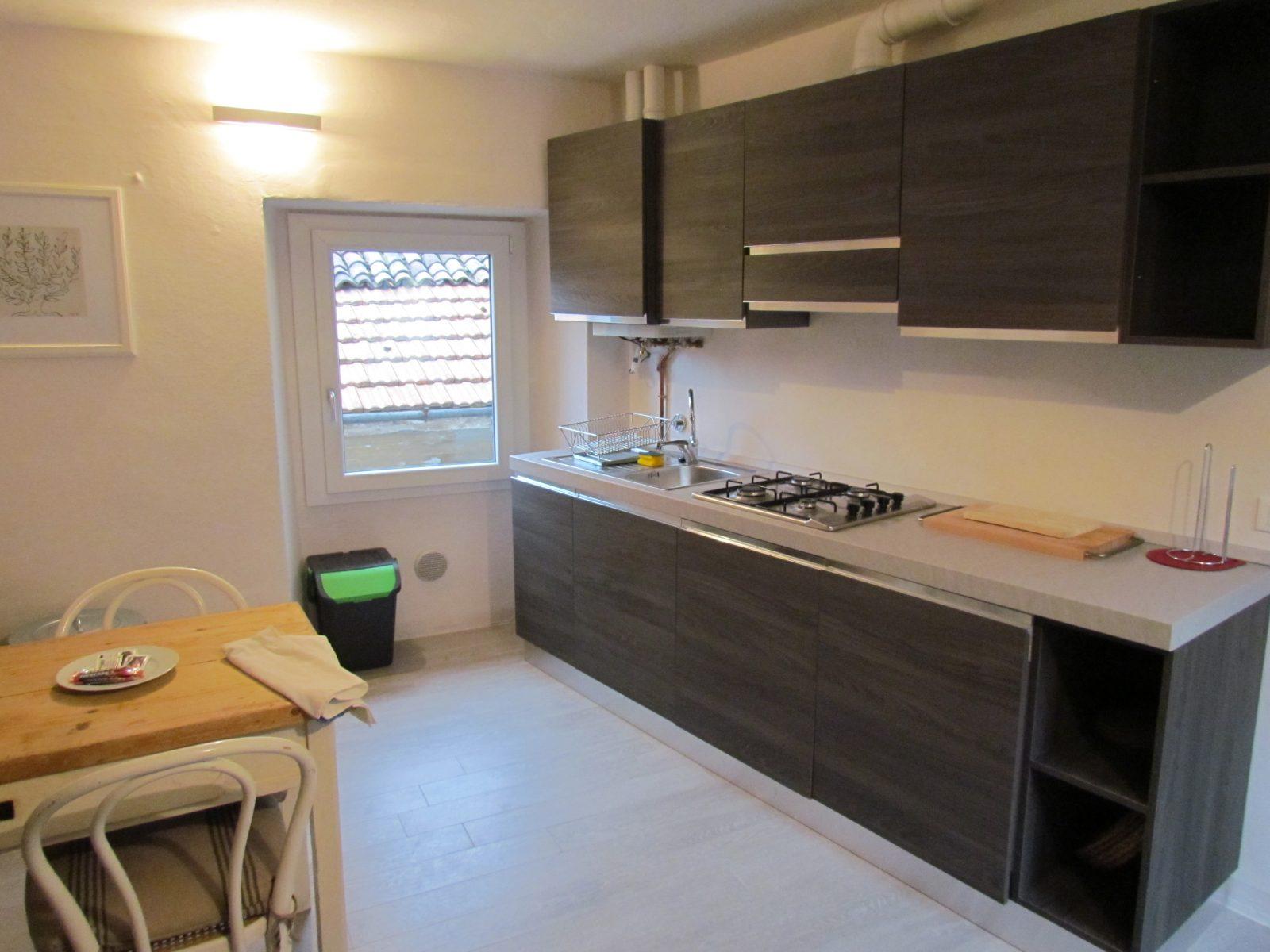 appartamento ristrutturato cucina