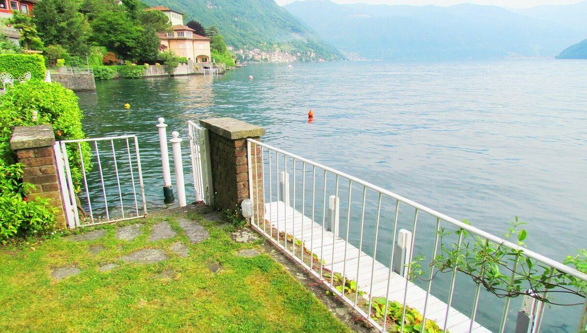 ingresso al lago