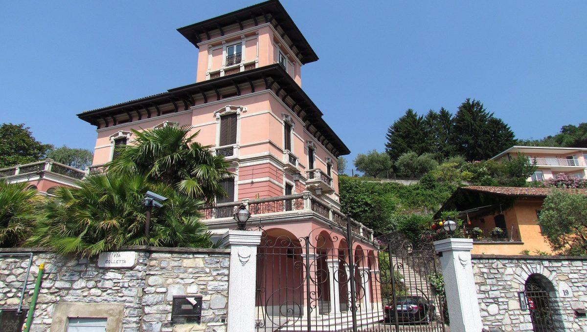 Prestigiosa villa sul Lago di Como in vendita