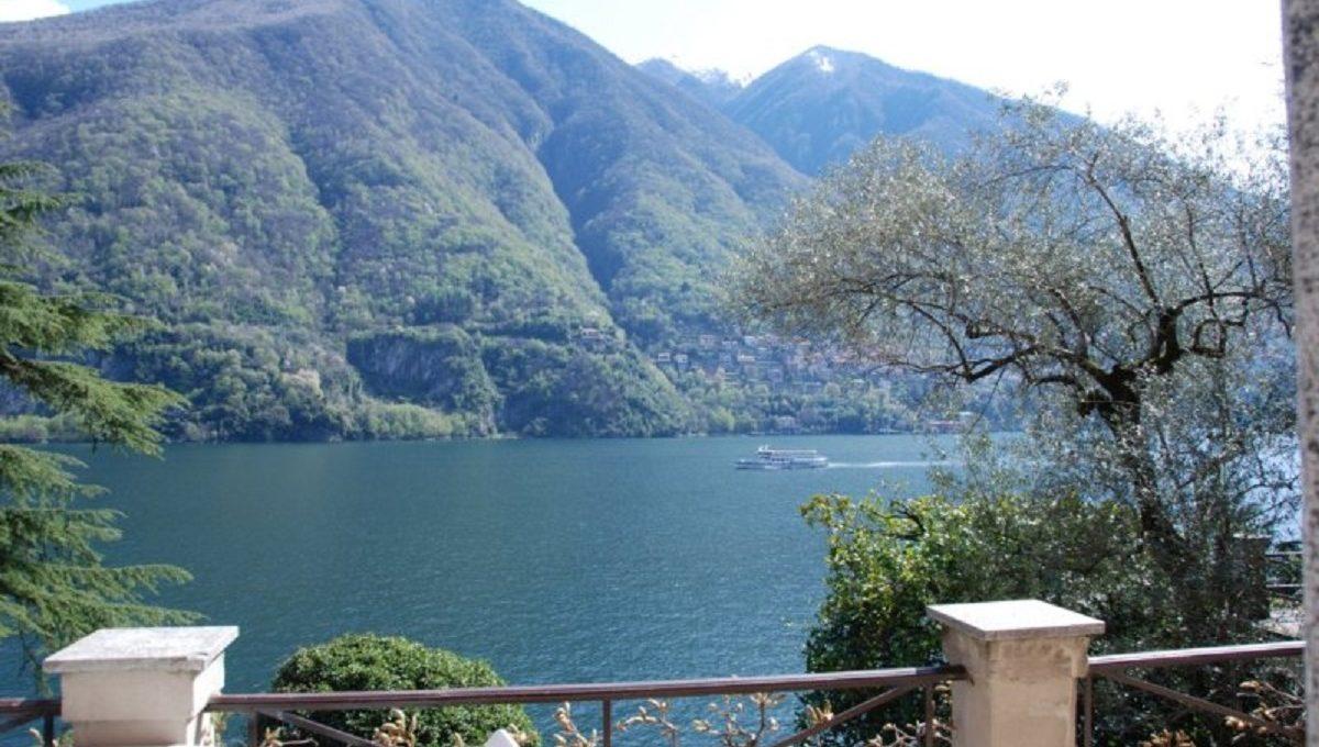 Veduta del Lago di Como dalla terrazza
