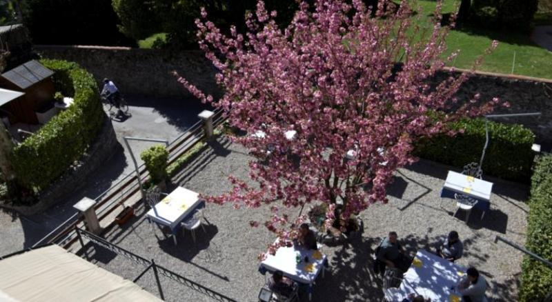 Veduta del giardinetto dall'alto