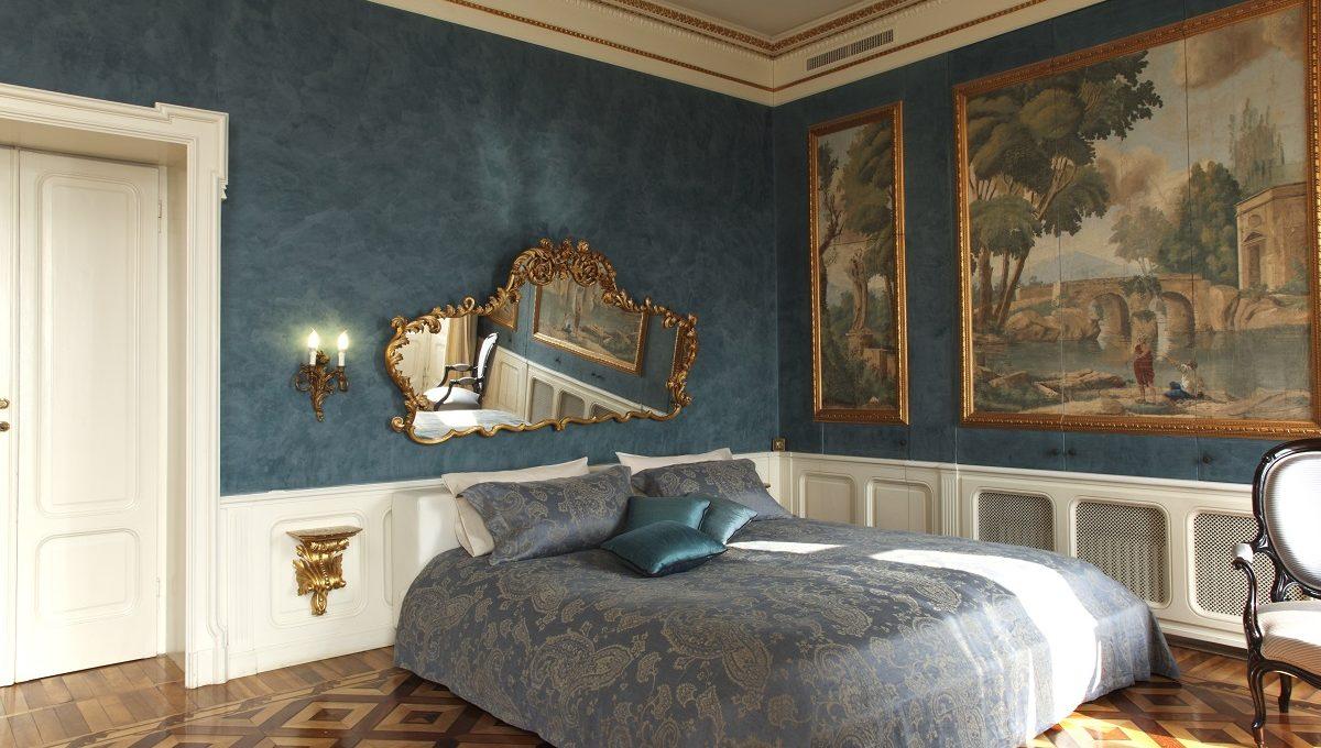 Prestigiosa villa sul Lago di Como in vendita Camera da letto padronale
