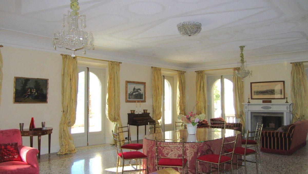 Sala da pranzo e soggiorno