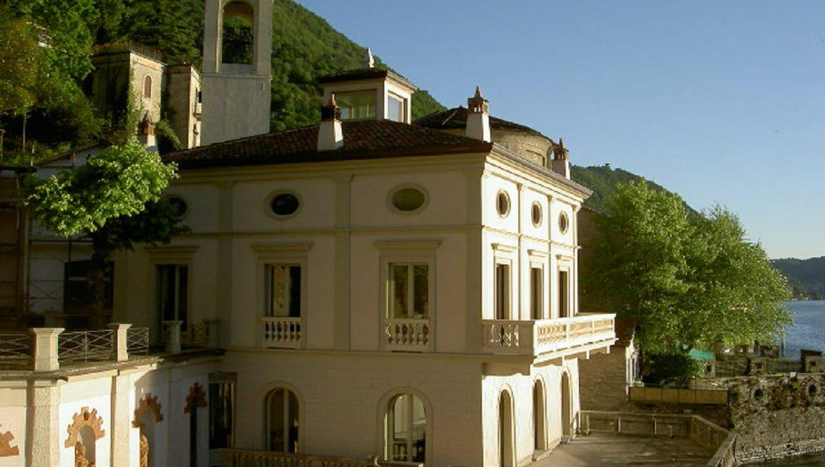 Elegante villa in affitto a Blevio lago di Como