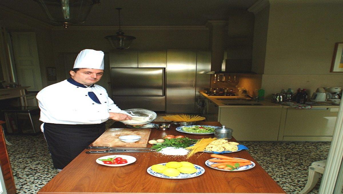 Cuoco della villa