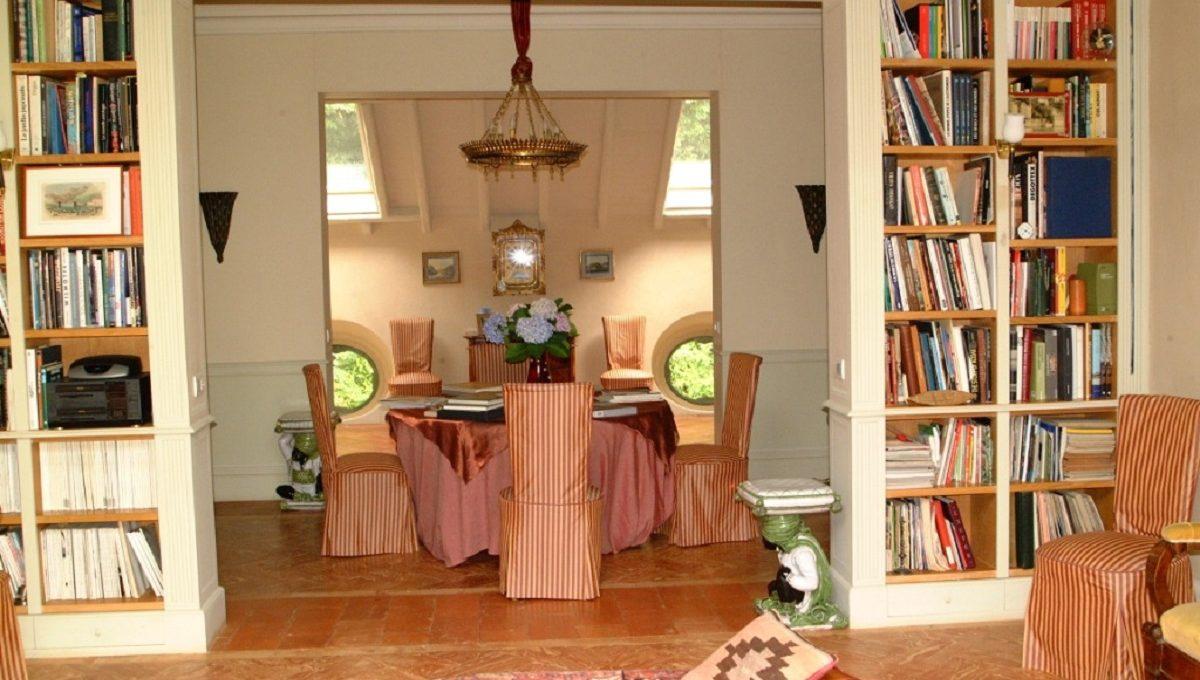 Libreria del soggiorno