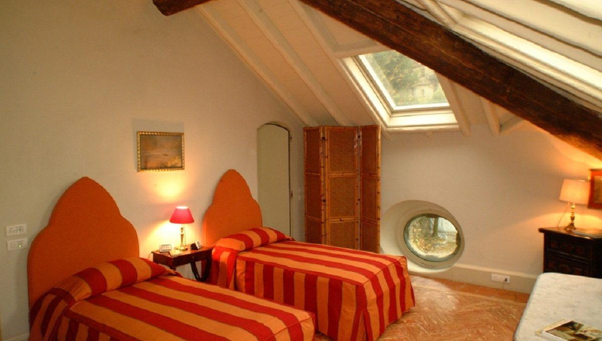 Camera da letto all'ultimo piano