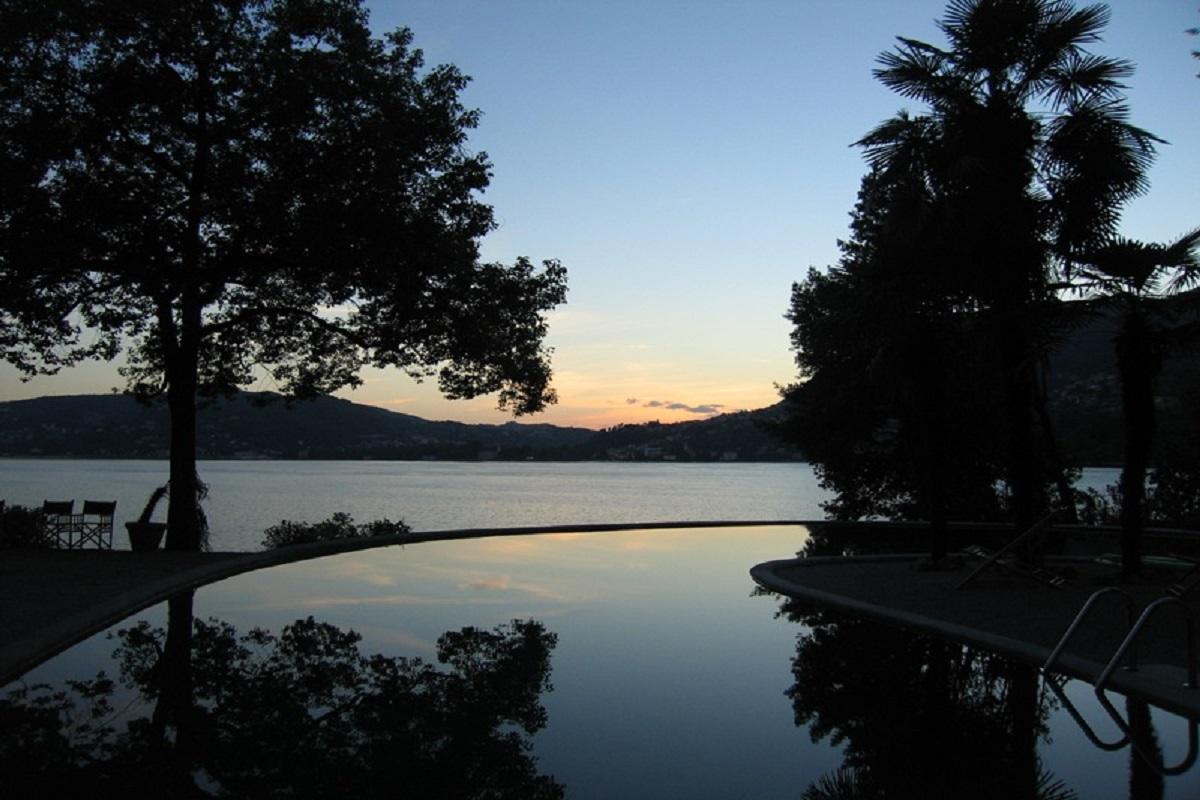 Blevio villa di lusso sul lago di Como in affitto