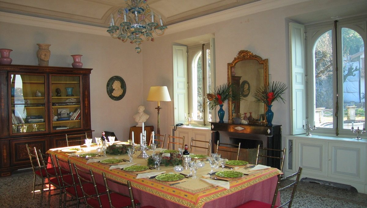 Sala da pranzo al piano terra