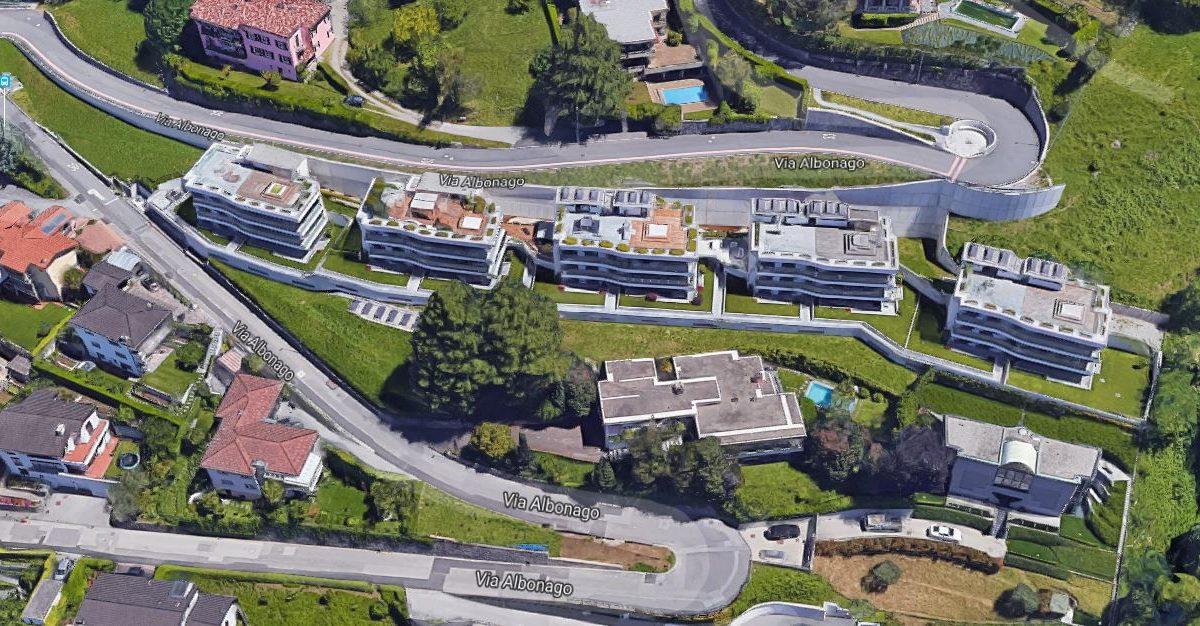 Lussuoso attico in vendita a Lugano Albonago