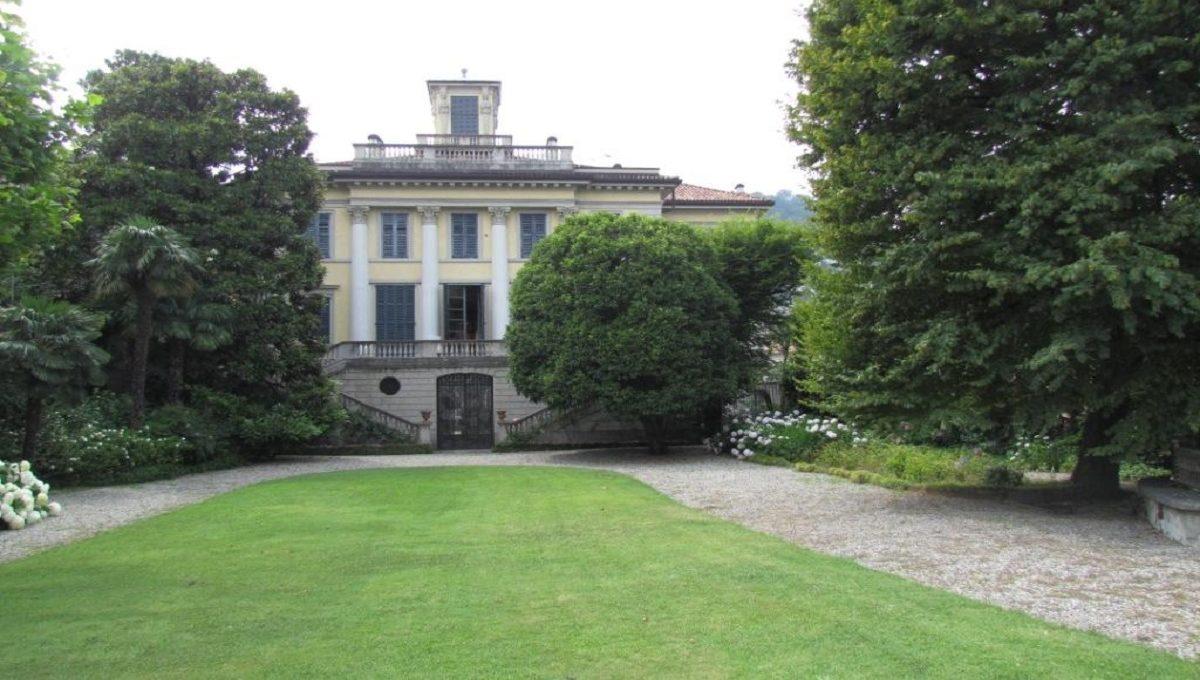 Villa Pisa vista dal giardino