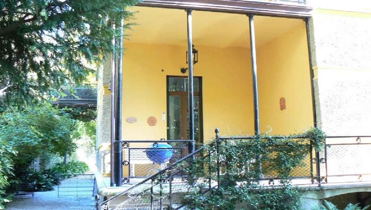 entrata della villa