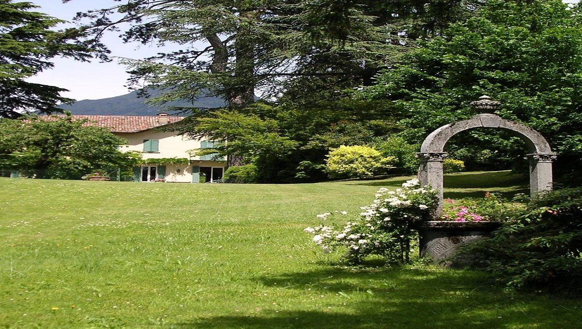 giardino della villa particolare
