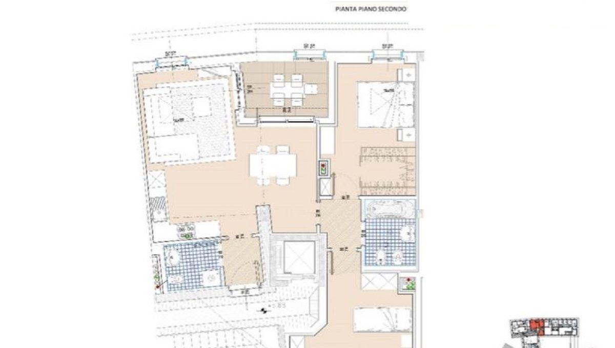 planimetria attico