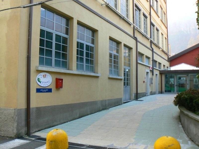 Parte esterna ingresso
