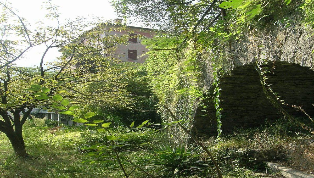 giardino della casa dei pescatori