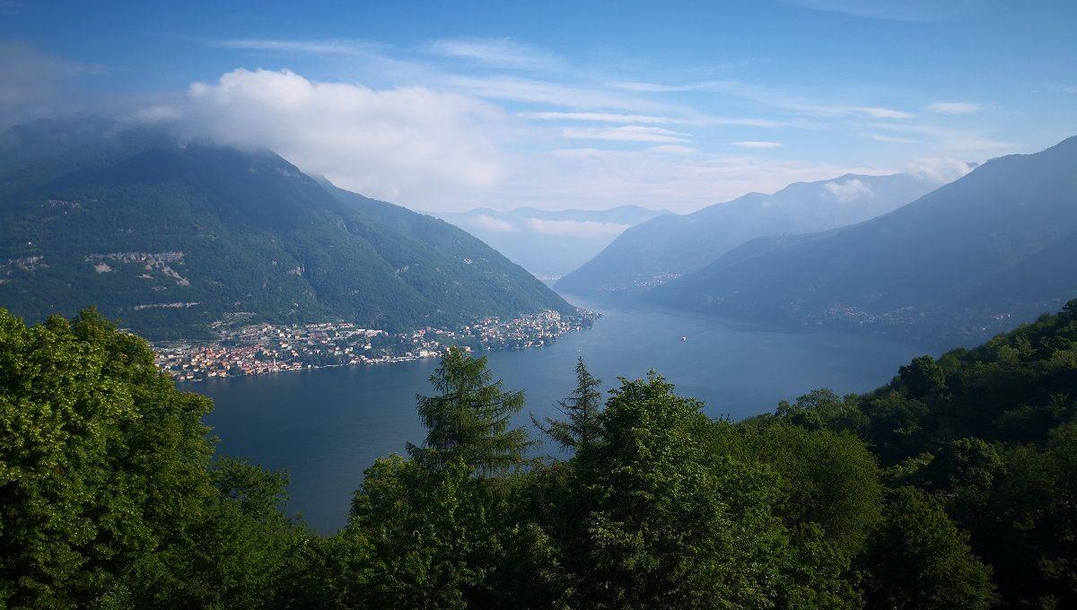 vista lago di Como