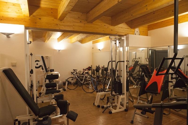 Tenuta sul lago di Alserio  area palestra fitness spa