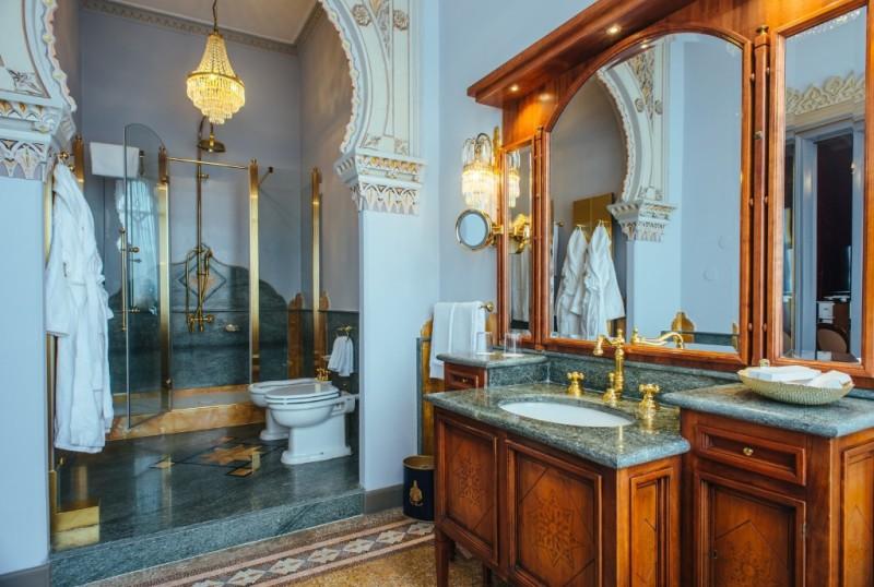 Hotel Relaix & Chateux Villa Crespi bagno