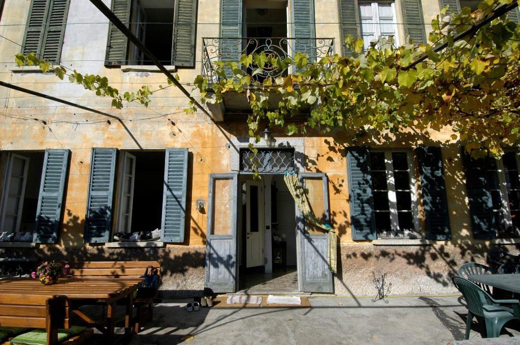 ingresso principale della villa