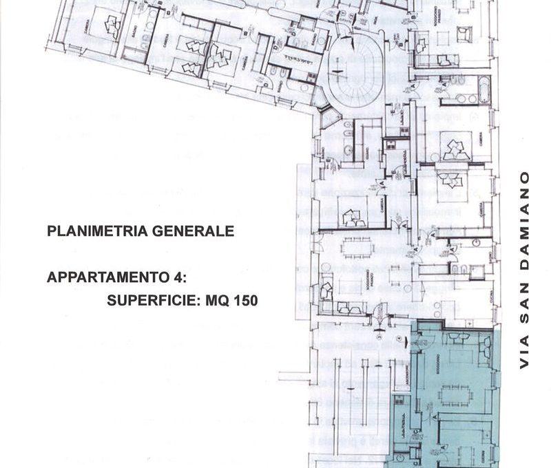 planimetria appartamento 4