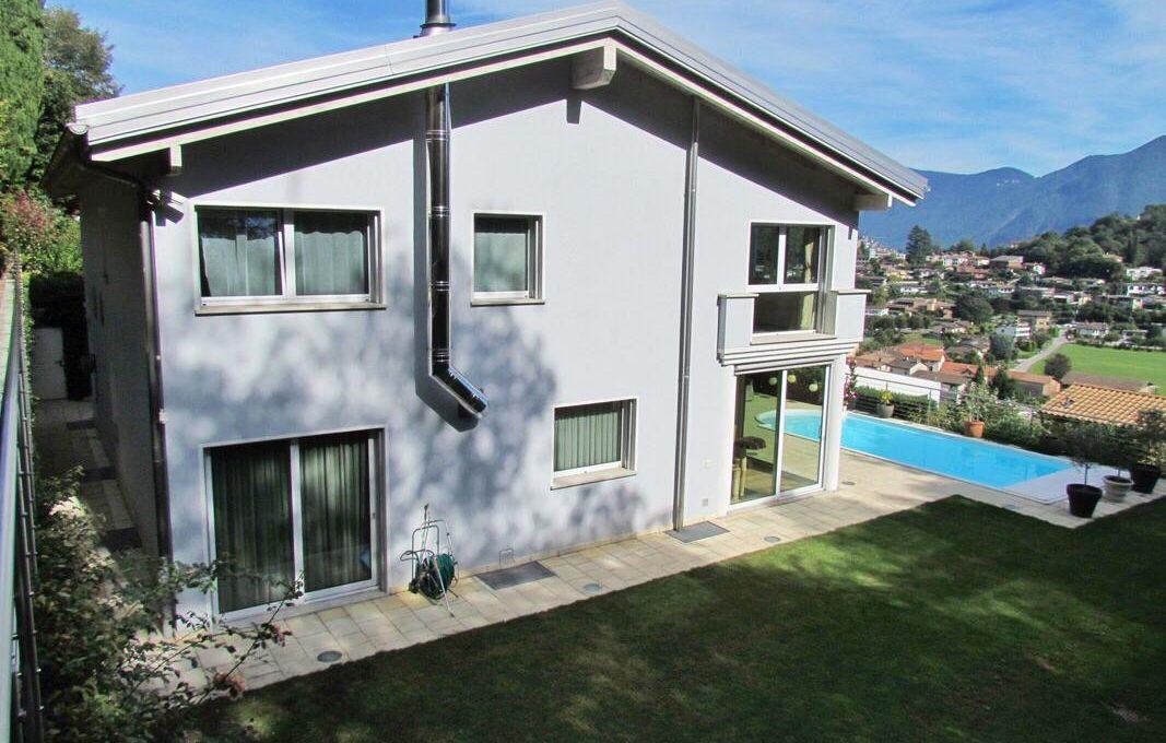 Villa con piscina Breganzona Lugano