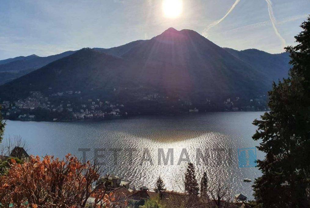 villa in vendita vista lago Moltrasio