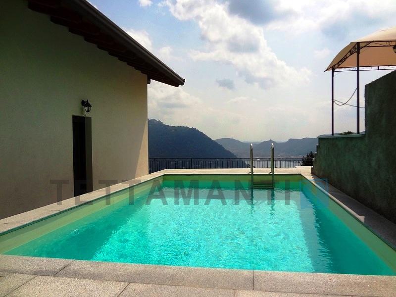 Cernobbio Lago di Como villa con piscina