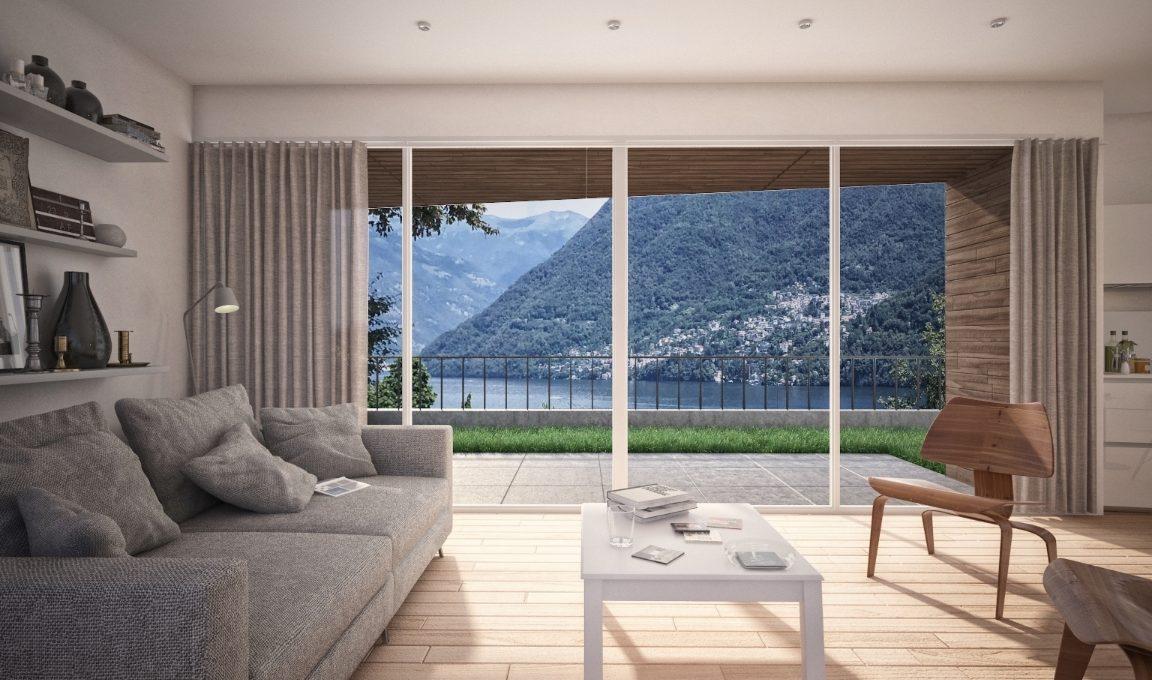 Carate Urio villa meravigliosa vista lago