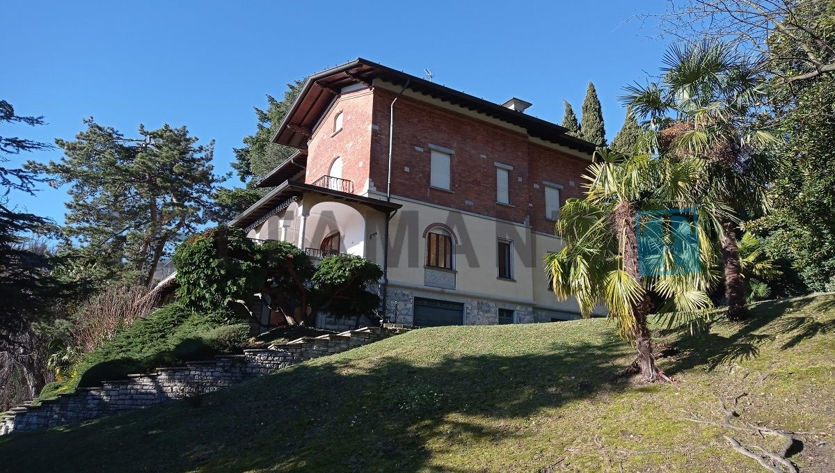 giardino villa in vendita como