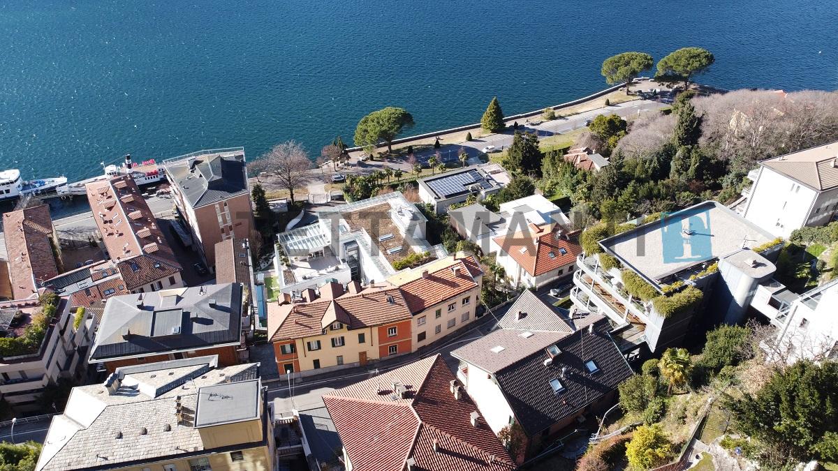 villa vendita como vista lago via prudenziana via torno