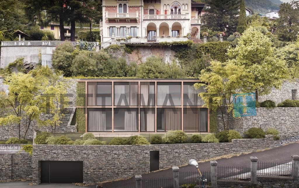 nuova villa moderna laglio lago di como vendita
