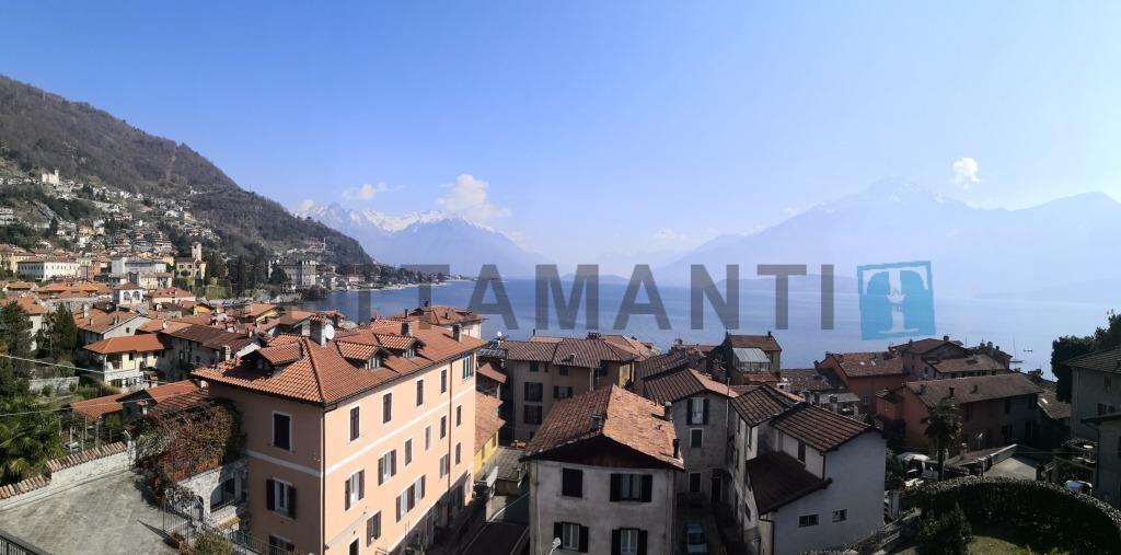 vista panoramica gravedona città e lago di como